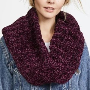 NWT Free People Love Bug Chenille Infinity Scarf